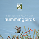Thumbnail image of hummingbird plant list cover.