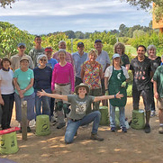 Image of UC Davis Arboretum and Public Garden volunteers.